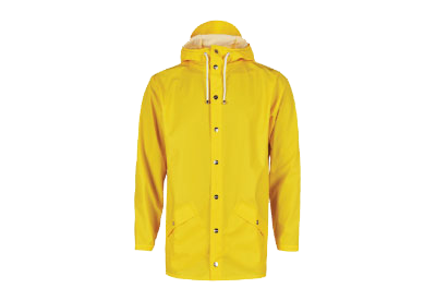 GAW003 RAIN COAT-YELLOW