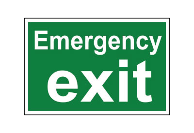 GEC002 EMERGENCY EXIT